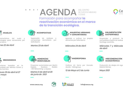 Cefus Agenda 2021 – Sustainability Center for Local Governments
