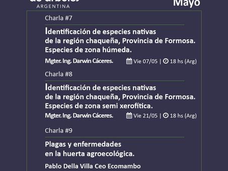 Conocé la agenda de mayo del Ciclo de Webinars #MillóndeÁrboles
