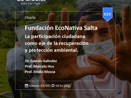 Este viernes hablamos sobre participación ciudadana y regeneración ambiental, ¡sumate!