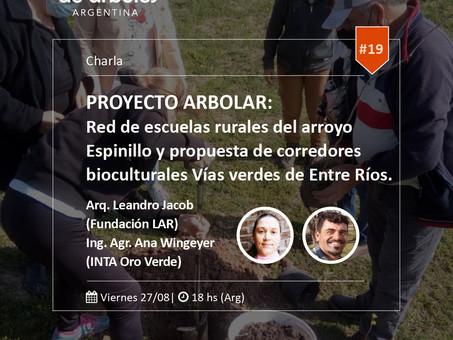 Proyecto ARBOLAR: no te pierdas el próximo webinar de #MillóndeÁrboles