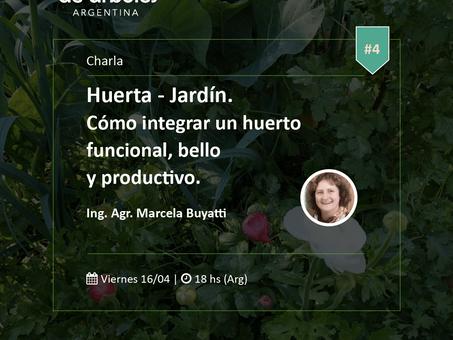 Huerta - Jardín: no te pierdas el próximo Webinar del Ciclo #MillóndeÁrboles