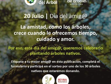 ¡Sorteamos 30 árboles nativos para celebrar el día del amig@!