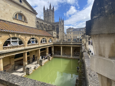 Learning by Being there: The Roman Baths