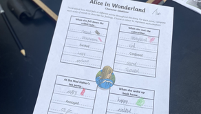 Learning by Being There: Alice in Wonderland & Lewis Carrol