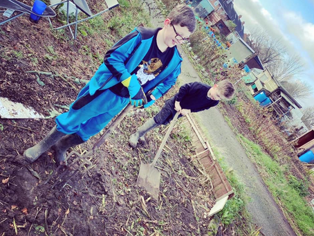 Creating Your Own Forest School By Renting an Allotment (Or Using your Garden)
