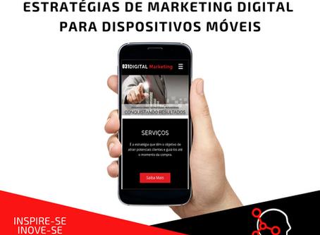 Estratégias de Marketing Digital para dispositivos móveis