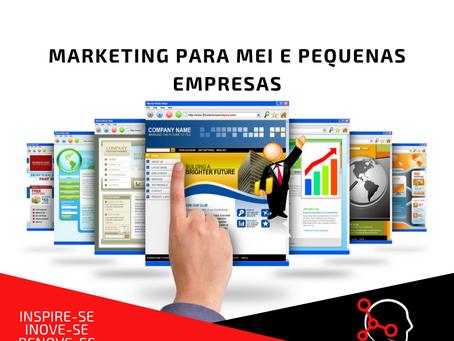 Marketing para MEI e pequenas empresas