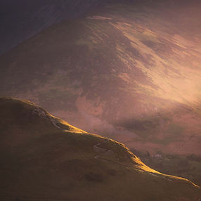 Last Light On Catbells