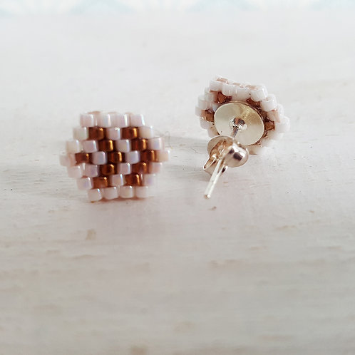 Boucles d'oreilles Geo 1-1 (réservé)