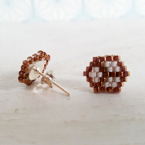 Boucles d'oreilles Cube 1 - vendu