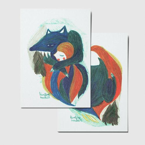 Loup (cartes postales)