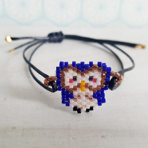 Bracelet Hibou - vendu
