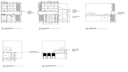 Construction Documents for TI Client Downtown