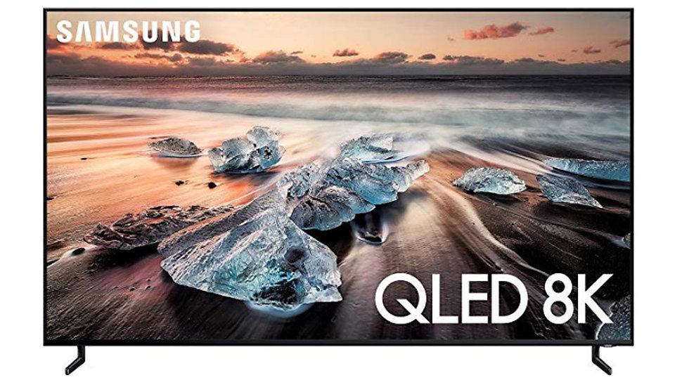 Samsung QN75Q900RBF Flat 75-Inch QLED 8K Q900 Series Ultra HD Smart TV with H