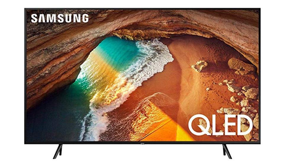 Samsung QN65Q60RAF Flat 65-Inch QLED 4K Q60 Series Ultra HD Smart TV with HDR