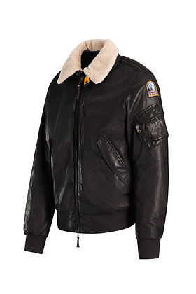 BLOUSON JOSH LEATHER MARRON PARAJUMPERS