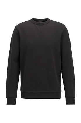 SWEAT WALKUP NOIR HUGO BOSS