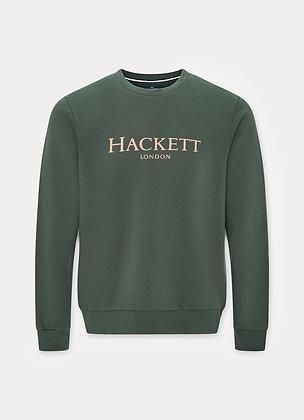 PULL HACKETT HACKETT LDN CREW 6DXDEEP FOREST - HM580877