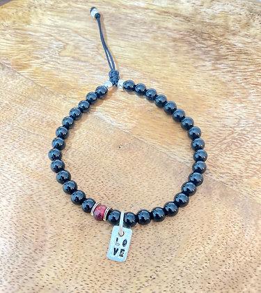 Bracelet Homme *Love & Onyx* Atelier K13