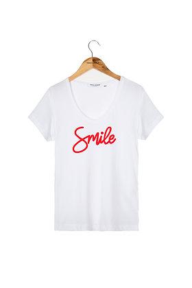 TEE SHIRT SMILE FRENCH DISORDER