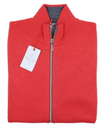 GILET MAISON WOOLIES MAILLE BLOQUEE 26 - 9808/AH21
