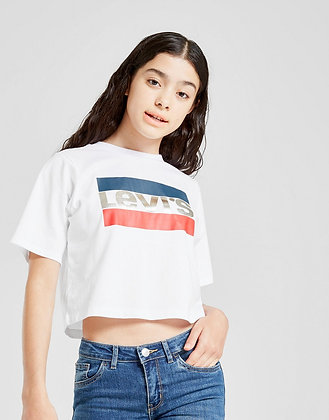 T-SHIRT CROPPED GIRL LEVI'S