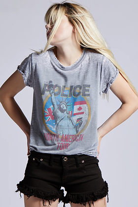 T-SHIRT THE POLICE RECYCLED KARMA