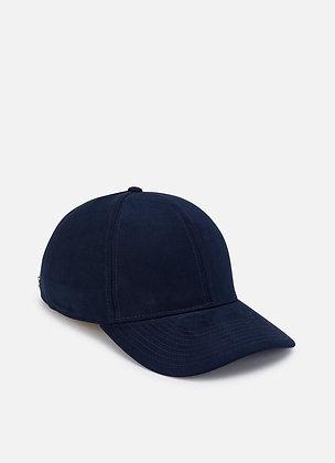 CASQUETTE HACKETT WILLOW SUEDE CAP 595NAVY - HM042262