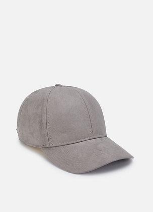 CASQUETTE HACKETT WILLOW SUEDE CAP 975DARK GREY - HM042262