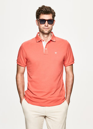 POLO HACKETT CORAIL MAILLE PIQUEE