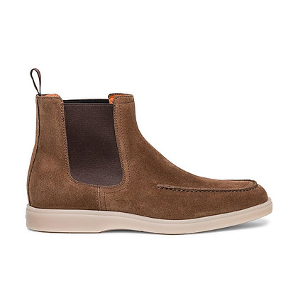 CHAUSSURE SANTONI BOOTS BROWN S50 - MGDT17690