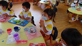 7-09-2  07,07, 年少 お弁当の時間から 感謝して (61).jpg