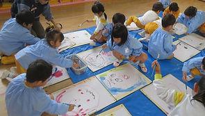 6-03-0 11,15, 年少 製作 絵画 顔 絵具を (30).jpg