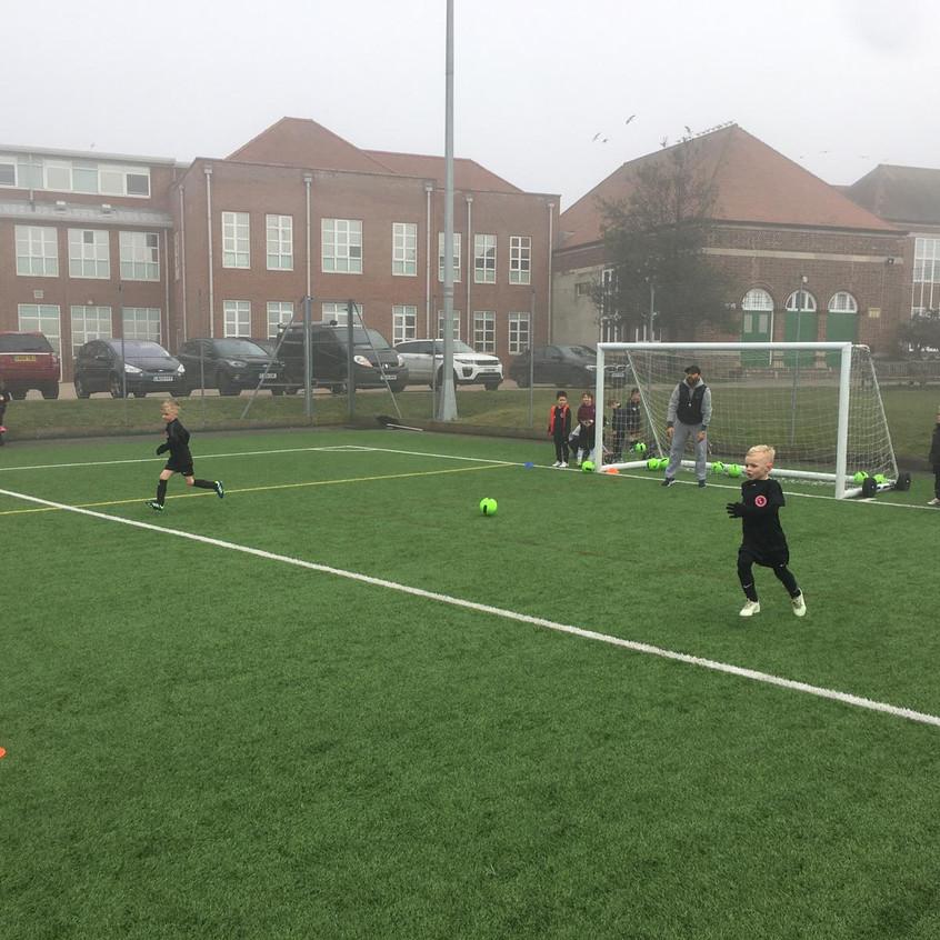Football training at FB3