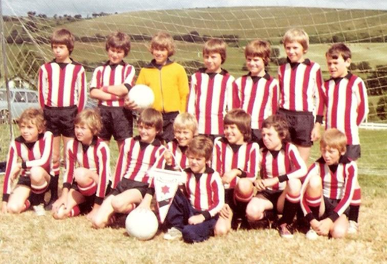 Byron Red Star U10- Wales tour 1976