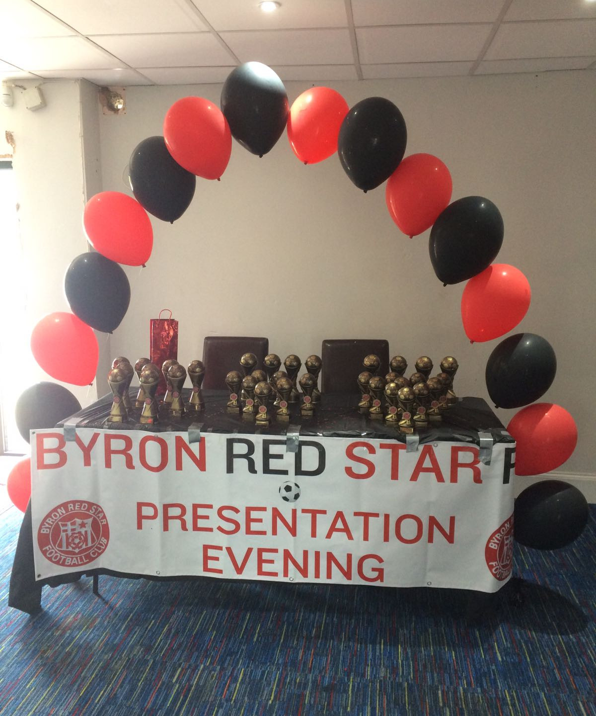 Byron's Presentation Evening