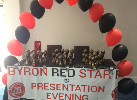 Presentation evening goes off with a bang!