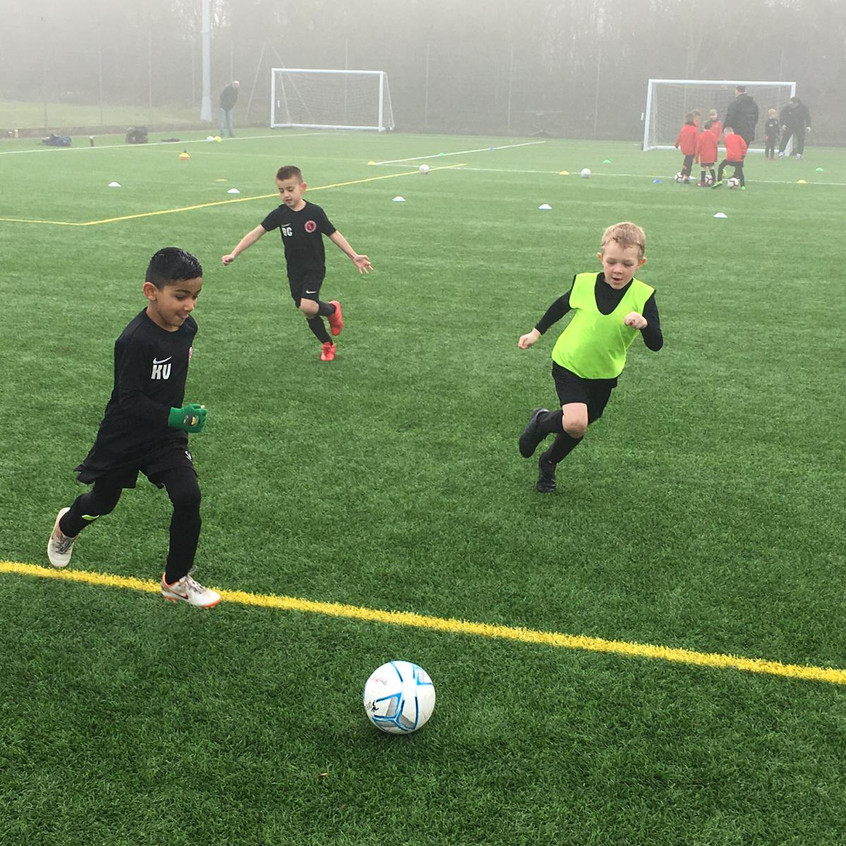 Football training at FB14