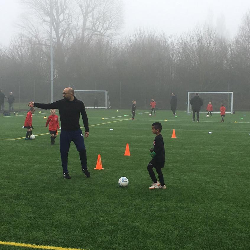 Football training at FB6