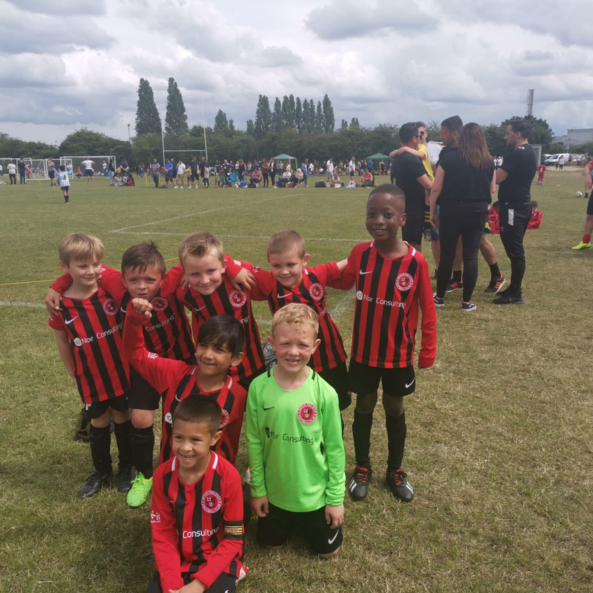 U7 Kestrels at the Tigers tournament Jun