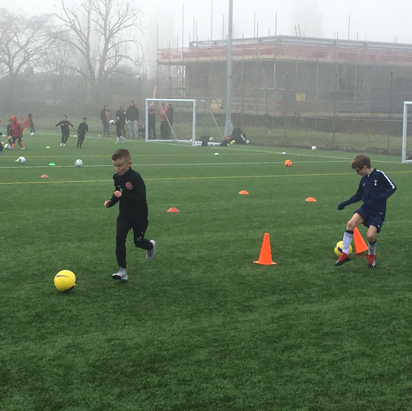 Football training at FB12
