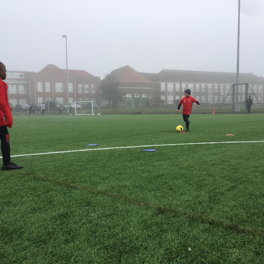Football training at FB13
