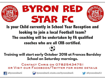 The next generation of Byron Red Star FC