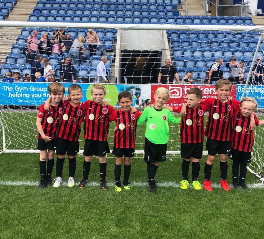 U6 Eagles at the Colchester tournament J