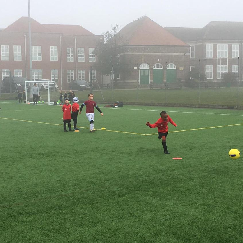 Football training at FB5