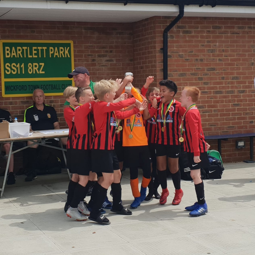 U9 Eagles June 2019 Wickford tournament