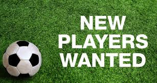 Players wanted for the 2018/19 season !