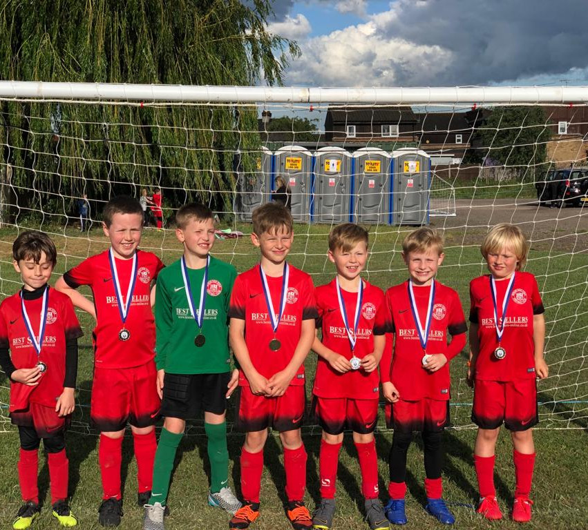 U8 Kestrels at the Harold Hill tournamen