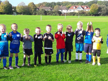 Smiles all around for the U6's !
