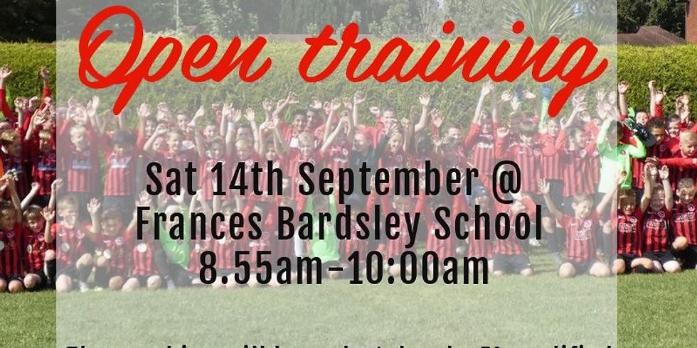 NEW U6 Training sessions !